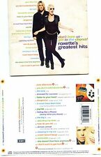 "ROXETTE ""GREATEST HITS"" CD BRAZIL ( BRAZILIAN EDITION ) ++ RARE ++"