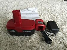 Craftsman C3 19.2v High Capacity Lithium Ion Battery & Charger PP2025 CH2045