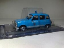 DeAgostini 1:43 Police car of Ireland Renault 4L