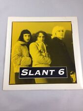 """SLANT 6 What Kind of Monster are you? 7"""" DISCHORD Records 1993 Riot Grrl"""