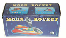 MOON ROCKET TIN TOY PUSH ALONG COLLECTORS TOY 12cm  MS353