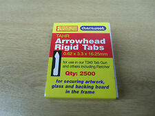 Charnwood TAHR Arrowhead Rigid Tabs 2500 per box for T240 and fletcher tools