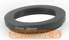 37mm to 28mm 37-28 mm Step Down Filter Ring  Adapter