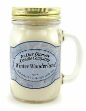 Winter Wonderland Scented Mason Jar Candle by Our Own Candle Company