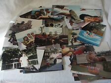 Lot of 100 Vintage 80s Kodak Color Photo Snapshots People Places Family