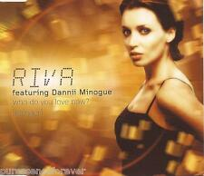 RIVA ft DANNII MINOGUE - Who Do You Love Now? (Stringer) (UK 4 Tk Enh CD Single)