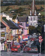 COLOR PRINT OF OIL PAINTING, IRELAND SERIES #26