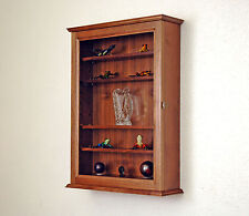 Hardwood Curio Wall Cabinet *Made in the USA*