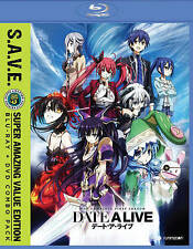 Date A Live: Season One (Blu-ray/DVD, 2016, 4-Disc Set, S.A.V.E.)