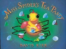 Miss Spider's Tea Party by Kirk, David