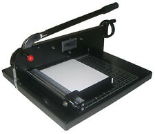 GUILLOTINE STACK PAPER CUTTER MACHINE TIMMER:FULL WARRANTY COME2770EZ HEAVY DUTY