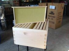 Beekeeping 10 frame deep super hive body, frames & foundation  Tuesday Special
