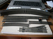 HORNBY Ex  TRAIN SET STARTER TRACK PACK INCLUDING  POINT EX ANGLIAN TRAIN  SET