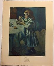 The Gourmet by Pablo Picasso Vintage Lithograph NYGS