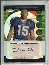 Brandon Marshall 2006 Finest Autograph