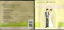 Classical fm Music For Weddings - cd album