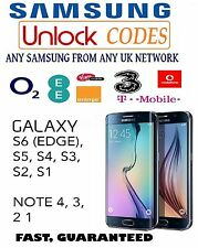 Samsung Galaxy S4 Unlock Code Sim Network Lock Pin - Vodafone UK Only