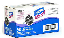 Dixie PerfecTouch Domed Hot Paper Coffee Cup Plastic Lids 12 -16 oz Black 500 ct