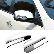 Chrome Side Mirror Cover Garnish Molding Trim LH RH For KIA 2010-2014 Sorento R