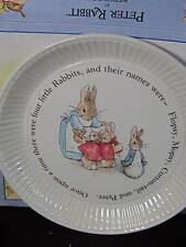 Wedgwood Beatrix Potter PETER RABBIT COMPOTIER Round Bowl MIB