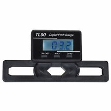 LCD display Digital Pitch Gauge Blades degree angle for align 450 700 RC heli F