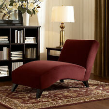Chaise Lounge Long Chair Sofa Couch French Recliner Sleeper Elegant Furniture