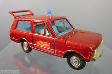 DINKY TOYS  MODEL No.195 FIRE CHIEF'S RANGE ROVER  ( METALLIC RED VERSION  )