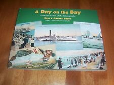 A DAY ON THE BAY Postcard Views of the Chesapeake Bay Tidewater History Book NEW