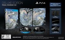 Final Fantasy XV Deluxe Edition Playstation 4 Collector Limited Steelbook Game