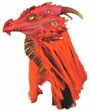 Costume Masks! Most Incredible Red Dragon Mardi Gras, Purim & Parade Mask Adult