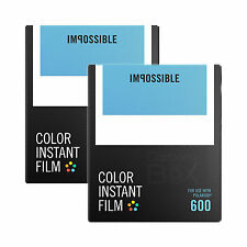 IMPOSSIBLE PROJECT Color Film for Polaroid 600 Type cameras - TWIN PACK