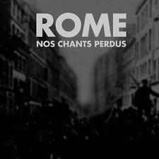 Rome NOS le nostre canzoni perdus CD Ordo Rosarius Equilibrio Death in June spirito FRONT