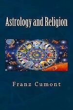 Astrology and Religion by Franz Cumont (2014, Paperback)