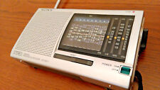 Sony ICF-SW11 Portable Shortwave Radio FM Stereo MW LM SW (1-9) 12-Band Receiver