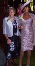 Jaques Vert Mother/Grandmother of the bride 5 piece outfit Lilac & navy size 18