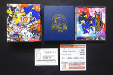 SONIC ADVENTURES 2 Limited Box Sega Dreamcast Japan Very.Good.Condition