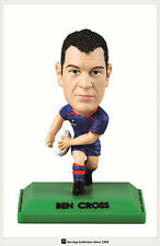 *2009 Select NRL STARS COLOR FIGURINE NO.22 Ben Cross (Knights)