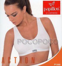 REGGISENO SPORTIVO DONNA ACTION  PREFORMATO COTONE PAPILLON ART.P1350