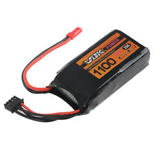 Battery Professor 3S Lipo Battery 11.1V 1100mAh 25C Universal For RC Drone