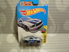 2016 HOT WHEELS ''HW ART CARS'' #198 = `07 FORD MUSTANG  = SILVER  us