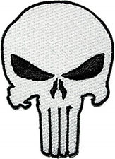 PUNISHER SKULL TACTICAL COMBAT SEAL TEAM 3 INCH  IRON ON PATCH