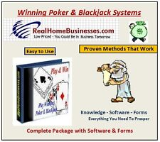 Proven Computer Accurate Poker & Blackjack Systems