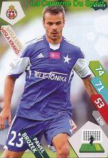 210 BROZEK POLAND WISLA KRAKOW CELTIC.FC CARD ADRENALYN EKSTRAKLASA 2015 PANINI