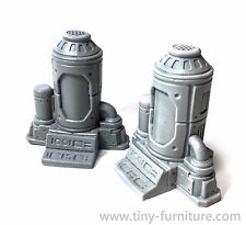 Cryogenic tanks - Malifaux, Warhammer, Fallout, terrain decor, SpaceHulk
