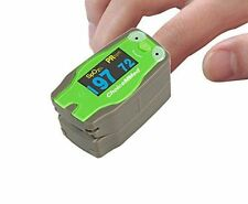 ChoiceMMed Pediatric Fingertip Child Pulse Oximeter OxyWatch Green Frog MD300C53