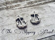 BULK Charms Anchor Charms Antiqued Silver 100 pieces Wholesale Charms Nautical