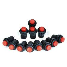 12 Car Boat Latching Dash OFF-ON Push Button Switch Red