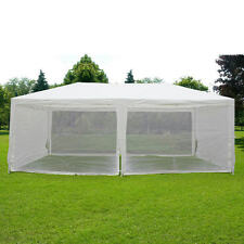 Quictent® 10'x20'Canopy Gazebo Party Wedding tent Screen House with Mesh Siewall