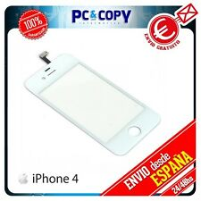 PANTALLA TACTIL PARA IPHONE 4 4G 4S DIGITALIZADOR TOUCH SCREEN BLANCO A+ NUEVO