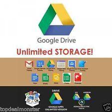 Unidad de por vida ilimitado de Google + + seguro de almacenamiento en la nube más rápido acceso en todo el mundo